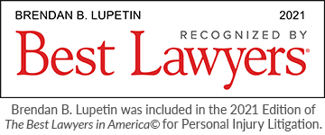 Brendan B. Lupetin was included in the 2021 Edition of The Best Lawyers in America© for Personal Injury Litigation.